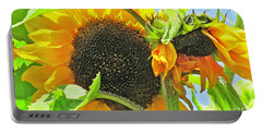 Gospel Flat Sunflowers Portable Battery Charger
