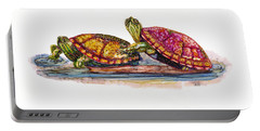 Spring Turtles Portable Battery Charger