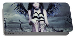 Goth Fairy Portable Battery Charger