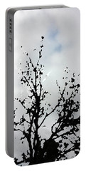 Goth Tree Clouded Sky Portable Battery Charger
