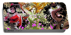 Gotham City Sirens Portable Battery Charger