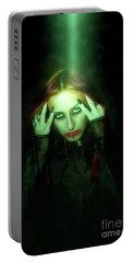 Gothic Female Model Portable Battery Charger