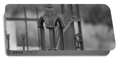 Gothic Ornamental Fence In Boothill Portable Battery Charger