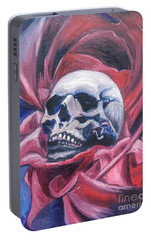 Portable Battery Charger featuring the painting Gothic Romance by Isabella F Abbie Shores FRSA