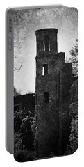 Gothic Tower At Blarney Castle Ireland Portable Battery Charger