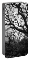 Gothic Woods II Portable Battery Charger by Marco Oliveira