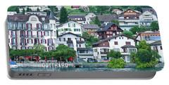 Hotel Gotthard On Lake Lucerne Portable Battery Charger