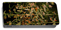 Spring Song Of The Meadow Flowers Portable Battery Charger by Nancy Kane Chapman
