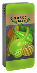 Gourd Purple Portable Battery Charger
