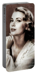 Grace Kelly, Actress, By Js Portable Battery Charger