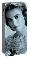 Grace Kelly Portable Battery Charger by Lulu Escudero