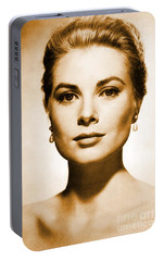 Grace Kelly Portable Battery Charger by Opulent Creations