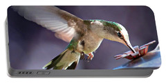 Graceful Hummingbird Portable Battery Charger