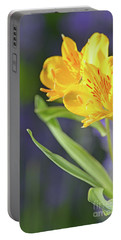 Graceful Wild Lilies Portable Battery Charger