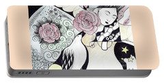 Gracefully - In Color Portable Battery Charger by Helena Tiainen