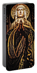 Portable Battery Charger featuring the photograph Gracious Virgin Mary by Joan Reese