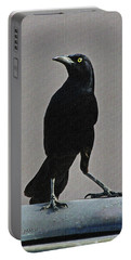 Grackle Looking Portable Battery Charger