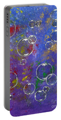 Graffiti Bubbles Portable Battery Charger