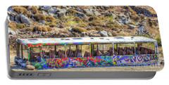 Graffiti Bus Portable Battery Charger