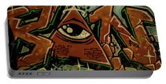 Graffiti_17 Portable Battery Charger
