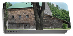 Grammie's Barn Through The Trees Portable Battery Charger by Kerri Mortenson