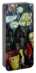 Grand Bazaar.the Cave Of Treasures Portable Battery Charger by Anna Duyunova