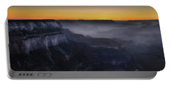 Grand Canyon At Twilight Portable Battery Charger by RicardMN Photography