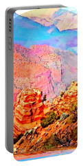 Grand Canyon By Nico Bielow Portable Battery Charger by Nico Bielow