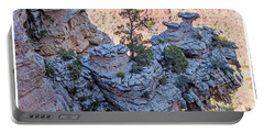 Portable Battery Charger featuring the photograph Grand Canyon Cliff Wall, Arizona by A Gurmankin