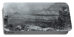 Grand Canyon In The Fog Portable Battery Charger