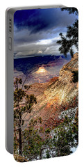 Grand Canyon In Winter Portable Battery Charger