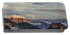 Grand Canyon Monsoon Rainbow Portable Battery Charger