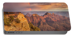 Grand Canyon North Rim Rainbow Portable Battery Charger