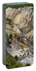 Grand Canyon Of Yellowstone Portable Battery Charger