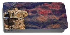 Grand Canyon Stacked Rock Portable Battery Charger by Roberta Byram