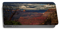Grand Canyon Storm Clouds Portable Battery Charger