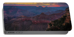 Portable Battery Charger featuring the photograph Grand Canyon Sunrise by John Hight