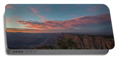 Grand Canyon Sunset 1943 Portable Battery Charger by David Haskett