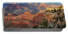 Grand Canyon View Portable Battery Charger by Debby Pueschel