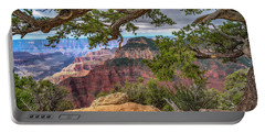 Grand Canyon With Pine Tree 7r2_dsc1706_0813201 Portable Battery Charger