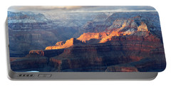 Grand Canyon With Snow Portable Battery Charger