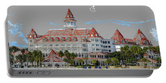 Grand Floridian In Summer Portable Battery Charger