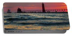 Grand Haven Pier Sail Portable Battery Charger