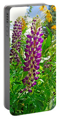 Grand Lake Purple Portable Battery Charger