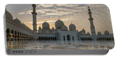 Grand Mosque Sunset Portable Battery Charger