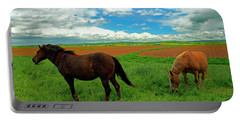 Grand-pre Horses Portable Battery Charger