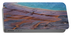 Grand Prismatic Spring Detail Portable Battery Charger