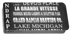 Grand Rapids Famous Landmarks Portable Battery Charger