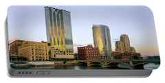 Grand Rapids Sunset Portable Battery Charger