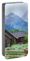 Grand Teton Church Portable Battery Charger